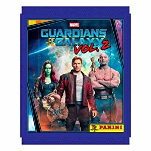 Panini Guardians Of The Galaxy Vol. 2 Movie (Full Booster Box) 50 Packs Of Stickers