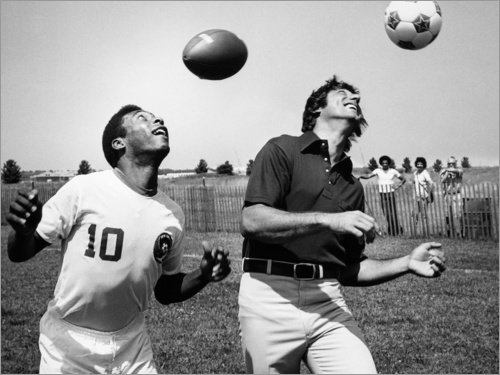 Holzbild 120 x 90 cm: Joe Namath von Granger Collection
