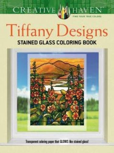 Creative Haven Tiffany Designs Stained Glass Coloring Book -