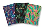 Studio Oh. Justina Blakeney Notebook Trio, Botanical Collection, Set von 3