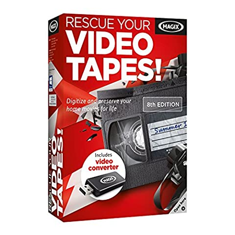 MAGIX Rescue your Videotapes! 8 – Digitize VHS and preserve your home movies for life