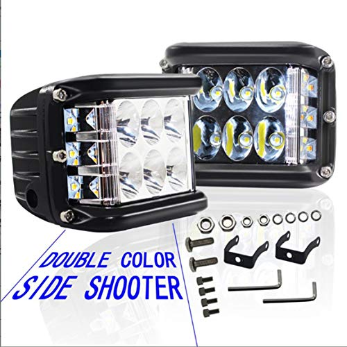 45 / 90W LED Light Work Strobe Light Bar clignotant Auto antibrouillard pour le camion SUV 4 roues motrices VTT Bateau Offroad Led Bar
