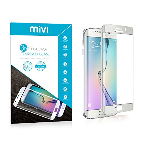 Samsung Galaxy S6 Edge MIVI Full Cover 3D Curved tempered Glass Screen Protector