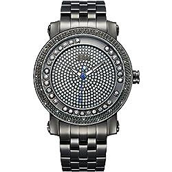 JBW Reloj con movimiento cuarzo japonés Man 50 mm