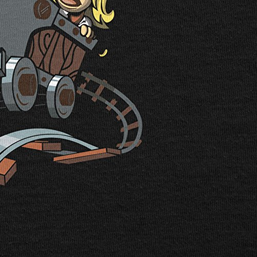 NERDO - Donkey Jones - Herren T-Shirt Schwarz