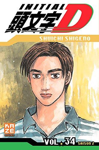 Initial D T34 par Shuichi SUGENO