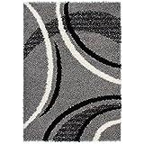 Lalee 347139828 Joy 104 - Alfombra, color gris plateado