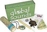 Mystery Mountain Global Multikulturelle Percussion Starter Geschenk Set, Holz, Grün, 5 X 18 X 23 cm