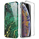 SURITCH Sruitch Compatible avec Coque iPhone XS Max Silicone 360 Degrés Protection...