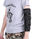 Ellenbogenbandage, Breathable Ellenbogenstütze Art Arm Schiene Bruch Stabilisator Gelenk Schmerzlinderung, Verletzungs Wiederaufnahme Nachtschutz (S)