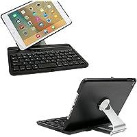 Tastiera con supporto girevole a 360°, per Apple iPad mini 4, KVAGO a conchiglia, girevole, (Batterie Carry Di Sistema)