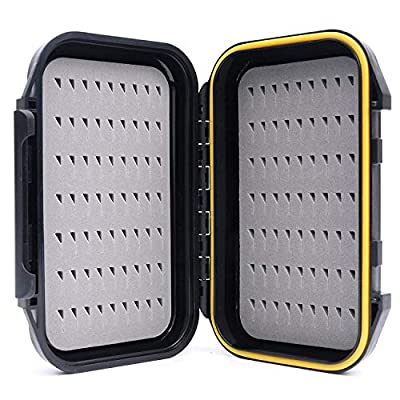 MAXIMUMCATCH OR Fly Box Waterproof Portable Design Fly Fishing Box(Easy Grip, Slit Foam) from Maximumcatch