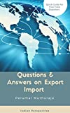 This book is a collection of notes I prepared while I entered export-import trade.This book explains the basics of Export-Import business. Though export-import concepts are the same for all the countries, there could be variations in procedures in ea...
