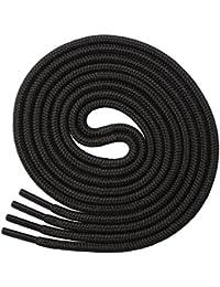 Miscly – Schnürsenkel Rund, Reißfest [3 Paar] für Sportschuhe, Sneakers und Stiefel – 100% Polyester - Ø 4 mm