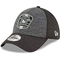 buy online c2063 e1741 New Era 39Thirty Cap - NFL Black Sideline Baltimore Ravens