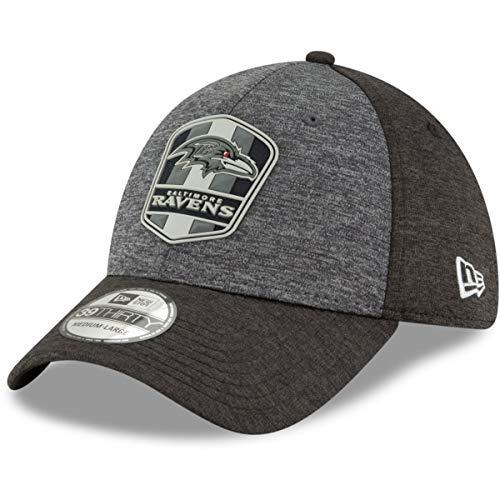 New Era 39Thirty Cap - NFL Black Sideline Baltimore Ravens - Cap New Ravens Era