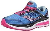 Saucony Triumph Iso 2 - Zapatillas de Running para Asfalto Mujer, Azul (Blue (Blue/Pink)Blue/Pink), 35.5 EU