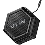 VTIN Altoparlante Bluetooth Esterno 5W Portatile con Basso Impermeabile Esterna, Speaker Suono ...