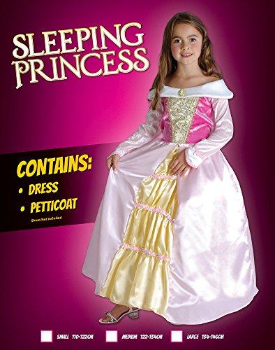 Imagen de disfraz de niña de la bella durmiente. 6  9 años alternativa
