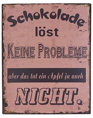 blechschild-schokolade-lost-keine-probleme-aber-das-tut-ein-apfel-ja-auch-nicht-shabby-chic-nostalgi