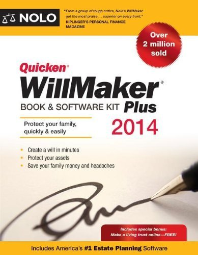 quicken-willmaker-plus-2014-edition-book-software-kit-by-editors-nolo-2013-paperback