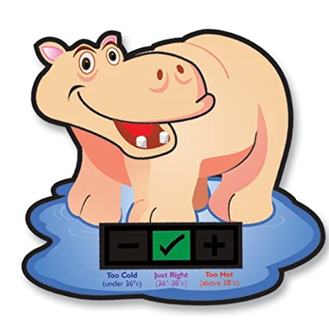 Happy Hippo Baby Bath Thermometer