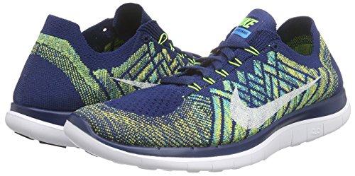 Volt Black Nike Flyknit Laufschuhe Herren Brave White Blue Free 0 Blau 4 wqvw47P