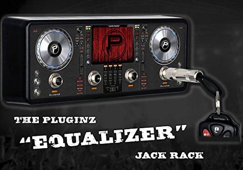 Preisvergleich Produktbild Pluginz Jack Rack Equalizer Keyholder · Geschenkartikel