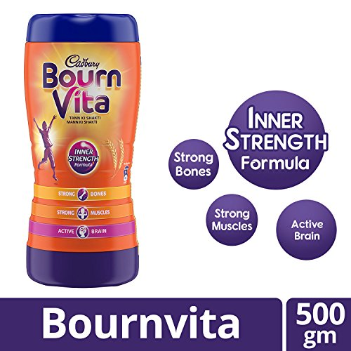 Cadbury Bournvita Chocolate Health Drink, 500 g Jar