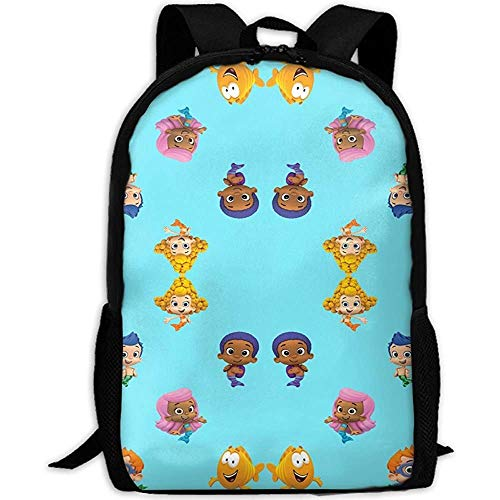 ucksack,Grosse Kapazität Daypacks,Lässiger Oxford Backpack, Bubble Guppies Student,Reisen,Business,Camping,Arbeit ()
