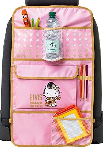 Walser 25021 Elvis Hello Kitty Rücksitz Organizer Rücksitztasche, Rosa