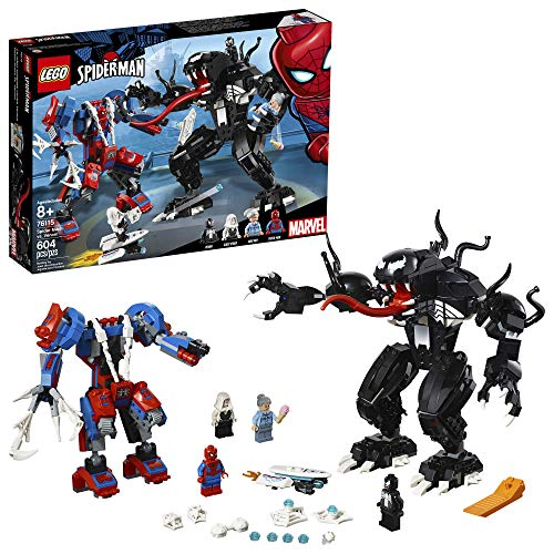 Spider-Man Marvel Lego Spider Mech vs. Venom 604-Piece