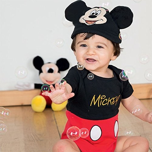 Kleid bis Mickey Maus Infant Kostüm, 0–3 Monate