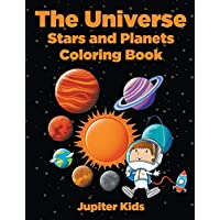 The Universe: Stars and Planets Coloring Book