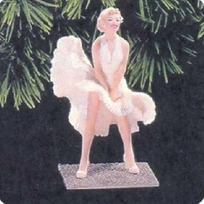 QX6333 Marilyn Monroe #2 Hallmark Keepsake Ornament 1998 by Hallmark