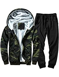 Men s Autumn Winter Patchwork Sweatshirt Top Pants Sets Sports Suit  Tracksuit Men Clothing Styles Man Fashion a0d8442afa0d5
