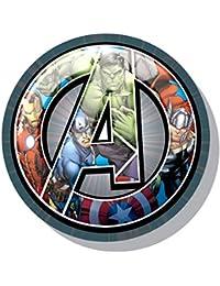 Cerdá Cojin Forma Avengers, Calentadores para Niños (Gris 13), One Size (Tamaño del Fabricante:única)