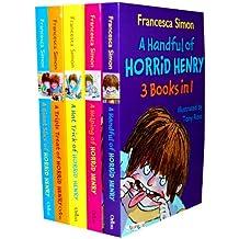 Francesca Simon's Horrid Henry 15 Titles in 5 Books Collection Set 44.95 (A ...