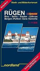 Nordland Karten, Rügen mit Hiddensee, m. Stadt- u. Bäderkarten-Set 'Rügen Spezial'