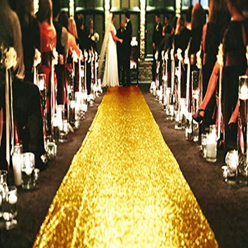 GOWINEU Türkis-Hochzeit Gangl?Ufer, Pailletten Teppich L?Ufer, Glitter Teppich Gangl?Ufer für Hochzeit