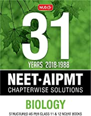 31 Years NEET-AIPMT Chapterwise Solutions - Biology