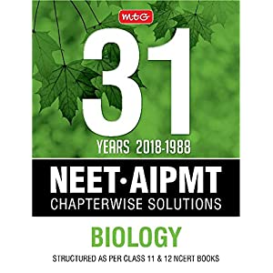 31 Years NEET-AIPMT Chapterwise Solutions – Biology