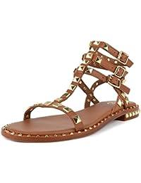 Ash Footwear Scarpe Miracle Sandali in Pelle Marrone Donna 38 Marrone K0b2l