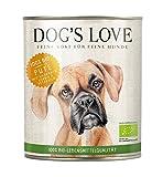 Dog's Love Hundefutter Nassfutter Bio Pute mit Amaranth, Kürbis & Petersilie (6 x 800g)