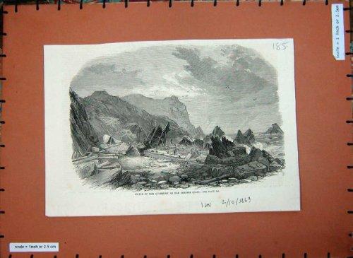 la-barca-della-cornovaglia-della-costa-di-avonmore-del-relitto-di-1869-navi-oscilla-larte