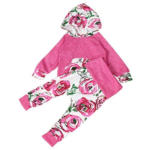 Culater® Capretto del bambino stampa floreale a maniche lunghe con