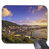 Caribbean, French West Indies, St. Martin. Mouse Pad 18×22 cm