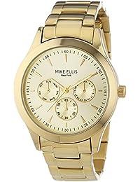 Mike Ellis New York Damen-Armbanduhr Analog Quarz Edelstahl SL4-60210