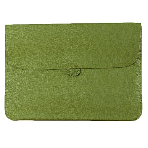 YiJee Laptop Sleeve Custodia Protettiva Borsa per Portatili Caso Portatile 15.4 Pollice Verde
