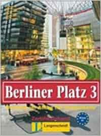 berliner platz 3 neu lehr und arbeitsbuch 3 mit 2 audio. Black Bedroom Furniture Sets. Home Design Ideas